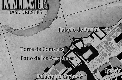 Mapa - Hades Nebula (Los Caminantes 3), Carlos Sisi - Minotauro - Pablo Uria Artworks