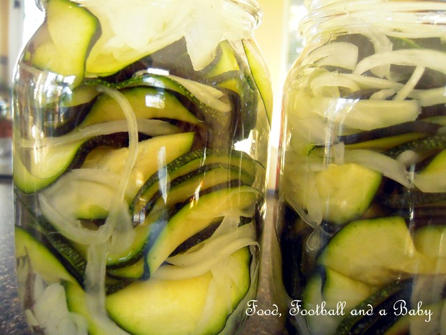 Courgette Pickles