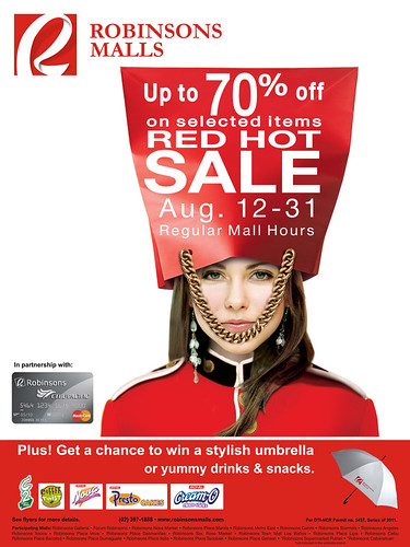 Robinsons Galleria - Red Hot Sale