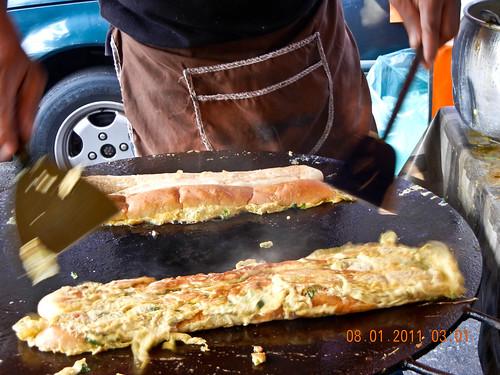 DSCN2354 Roti John , Ramadhan bazaar , Ipoh ,Malaysia- 2011