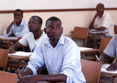 Herminio at school (United Nations Industrial Development Organization) Tags: school students youth training education employment room class course entrepreneurship mozambique unido mdg povertyreduction unitednationsindustrialdevelopmentorganization entrepreneurshipdevelopmentforyouth