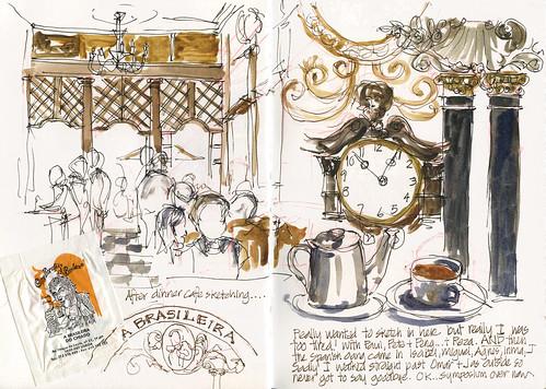 10_Fri23 12 Post dinner sketching