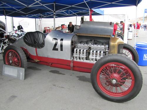 Automobile at Mazda Raceway Laguna Seca