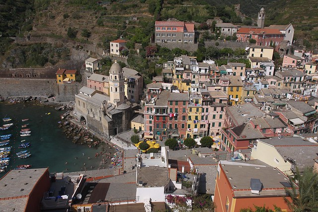 Cinque Terre - Vernazza from above