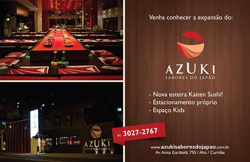 Anúncio Revista - Azuki by chambe.com.br