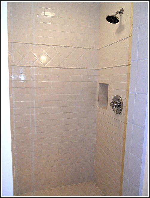 Our Newly Renovated Shower