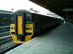 158770 Nottingham (Corin Heathcote) Tags: nottingham uk railway dmu class158 158770