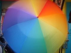 Rainbow Umbrella (LainerDele) Tags: umbrella rainbow