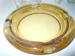 Glass ashtray (JGBeamer) Tags: glass vintage 60s retro 70s 1960s ashtray 1970s deco collectibles ashtrays tobacciana