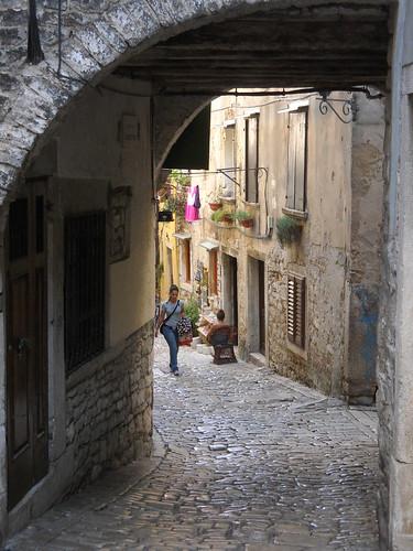 Cobblestone Stroll, Rovinj, Croatia