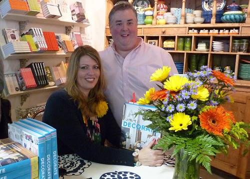 Decorate signing in Boston - me and Matthew Mead