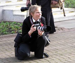"Photographer photographed • <a style=""font-size:0.8em;"" href=""http://www.flickr.com/photos/36398778@N08/6068839481/"" target=""_blank"">View on Flickr</a>"
