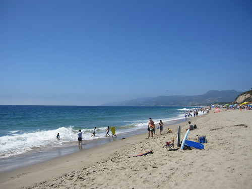 Westward Beach in Malibu