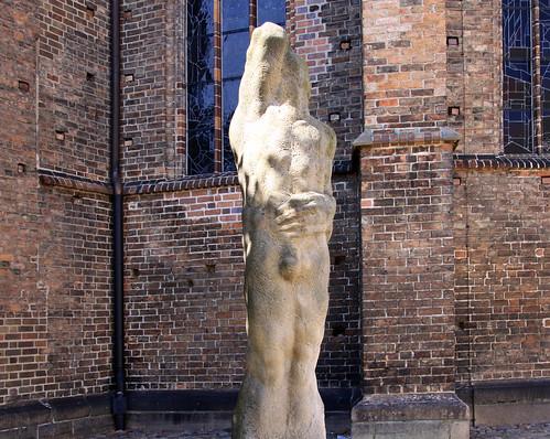 Skulptur zu Heinrich von Kleist
