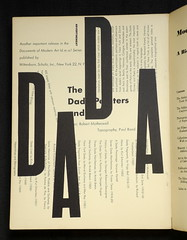 Paul Rand typographic ad for Documents of Modern Art Series (World of Good) Tags: art paul typography photography design graphicdesign image modernism content books photographs type dada rand typographic paulrand worldofgood documentsofmodernart modernartistsinamerica