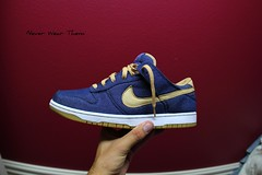 My iDs (Never Wear Them) Tags: blue white gum sesame id bottom khaki nike denim sole sb dunk nikeid