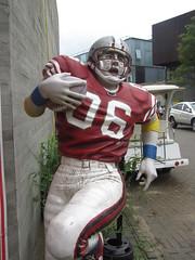 Football Player, Hyeri, Paju (blueoceanpalm) Tags: hyeri 헤이리예술마을