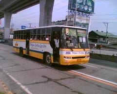 Philippine Corinthian Liner Corp. 31958 (Bus Ticket Collector II; Mariposa ) Tags: bus pub edsa pcl diehards balintawak camanava exfoh ordinaryfare philippinecorinthianliner cityoperation