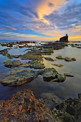 Steps to Heaven (dex_d1) Tags: sunset seascape landscape philippines grotto sur ilocos narvacan singhray nd106 5dmark2 rgnd