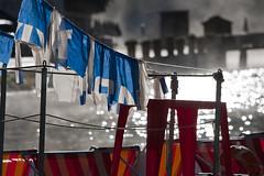 ...ordine (Zardini Walter) Tags: lago nebbia atmosfera freddo disordine bandiere mattino ordine vapore banchisa suggestione