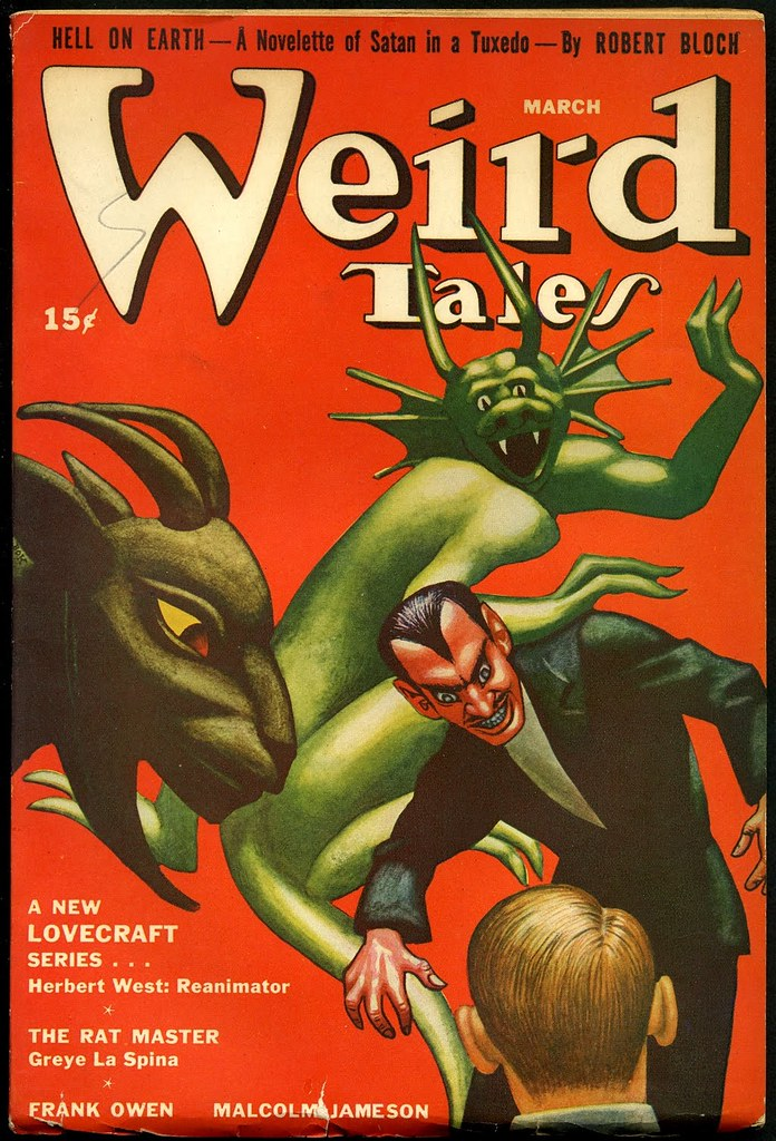 Hannes Bok -  Weird Tales, March 1942
