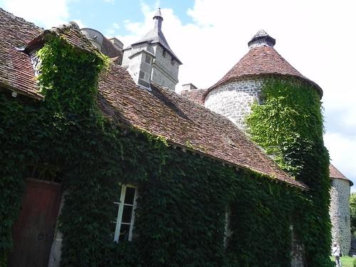 Château de Villemonteix, Saint-Pardoux-les-Cards, Creuse,  Limousin, France
