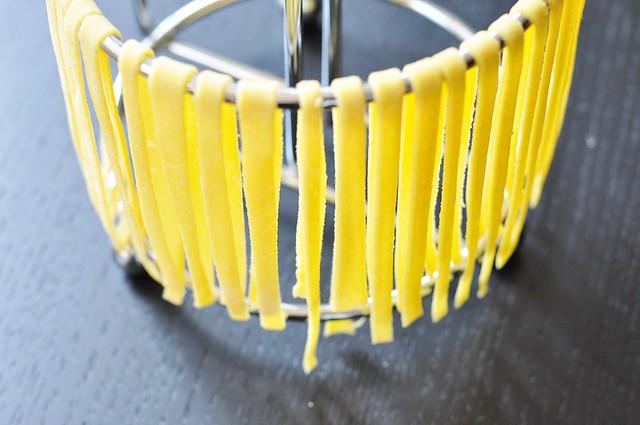Hanging pasta