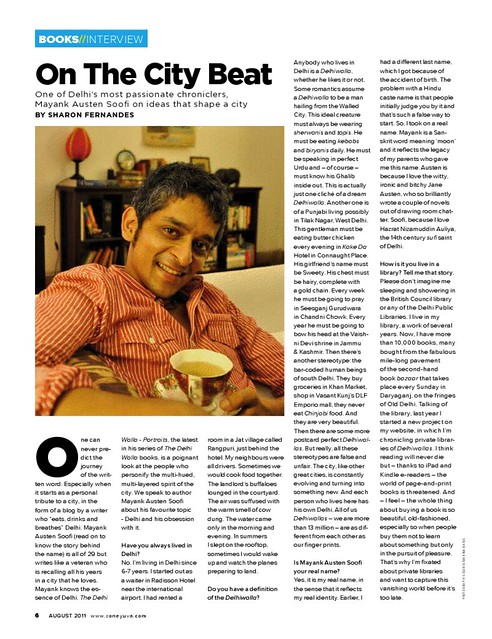The Delhi Walla Interview