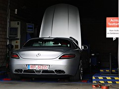 Brabus SLS 700 BiTurbo (Niklas Emmerich Photography) Tags: test black silver germany mercedes benz hp 63 700 supercar sls highspeed amg brabus bottrop biturbo hypercar worldcars