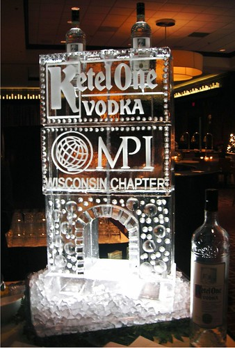 Ketel One & MPI Luge ice sculpture