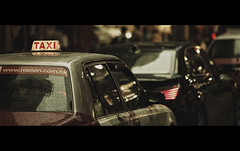 Taxi (Maxim Chechin) Tags: street light hk cinema colors canon movie hongkong screenshot taxi 1d maxim f2 cinematic tones 135mm markiv chechin