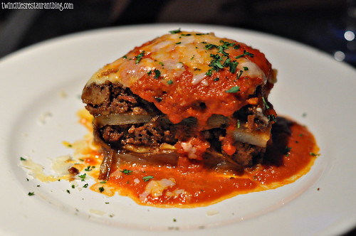 Moussaka at Santorini Taverna ~ Minneapolis, MN