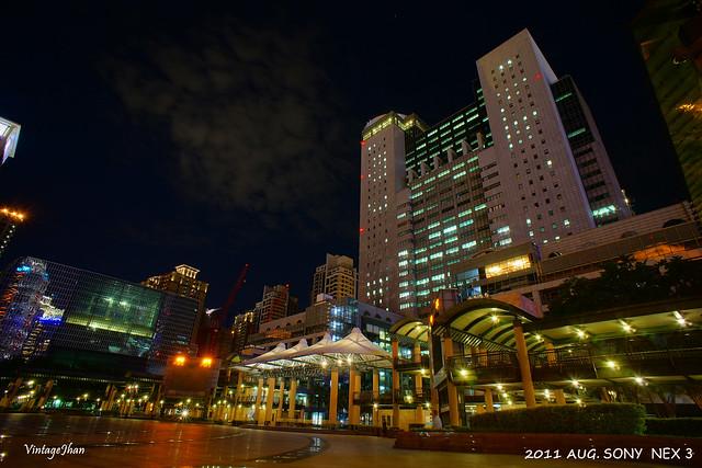 新板特區夜景