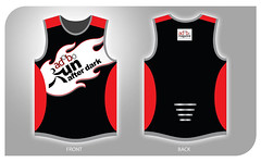 Adobo Run 2011 Singlet design