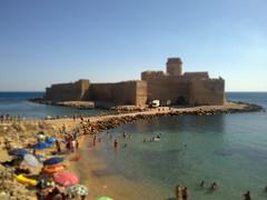 le castella tilt shift ((dada)) Tags: castle mare shift le tilt castello capo calabria isola castella ionio rizzuto