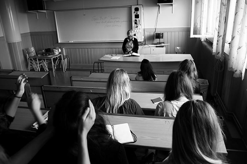 första skoldagen i världens finaste klassrum