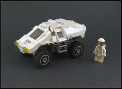 Exploratory Rover (Titolian) Tags: mars lego space rover astronaut nasa explore future spaceman exploratory moc shockabsorbers brickfair