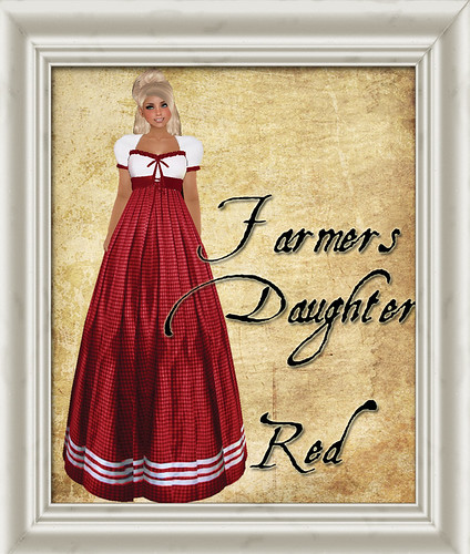 Shabby Chic Farmers Daughter Red - for Valentines Day by Shabby Chics