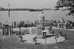 Herplaatsing standbeeld koningin Wilhelmina
