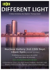 different light exhibition poster (stephen thomas green1) Tags: art photography kent skies surreal rochester chatham paintingwithlight southeast dreamlike medway hdr gillingham rainham rivermedway dramaticskies stephenthomasgreen nucleusarts docksidetowers stephenthomasgreenphotographicartist nucleusartschatham
