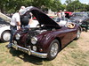 1955 Jaguar XK140 OTS (Open Two Seater) (cjp02) Tags: show classic car vintage indiana days british motor zionsville fujipix av200 cjp02 1955jaguarxk140otsopentwoseaterindy