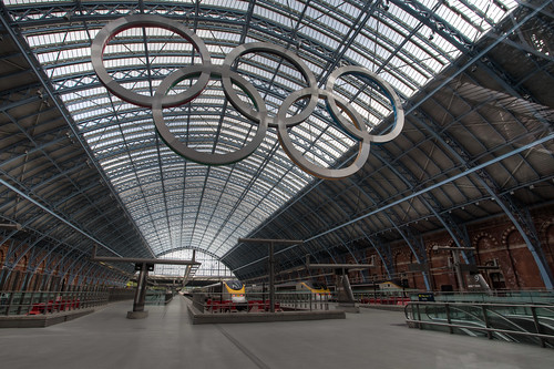 667 - St Pancras Station by Mark Carline