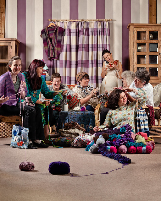 Monkton Elm Knit Club for Somerset Life