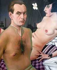 Christian Schad, Self-Portrait, 1927 (profzucker) Tags: vienna selfportrait london weimar german alienation 1927 schad betweenthewars christianschad germanart newobjectivity neuesachlichkeit