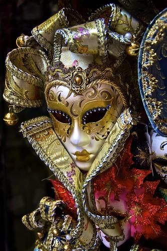 Venetian Mask by Luigi R. Viggiano