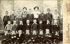 Forfar Elementary Class Photo c 1905 - West School (ronramstew) Tags: school west history boys scotland photographer dundee angus group class historic teacher forfar primary elementary pupils 1905 1900s westschool dandwprophet