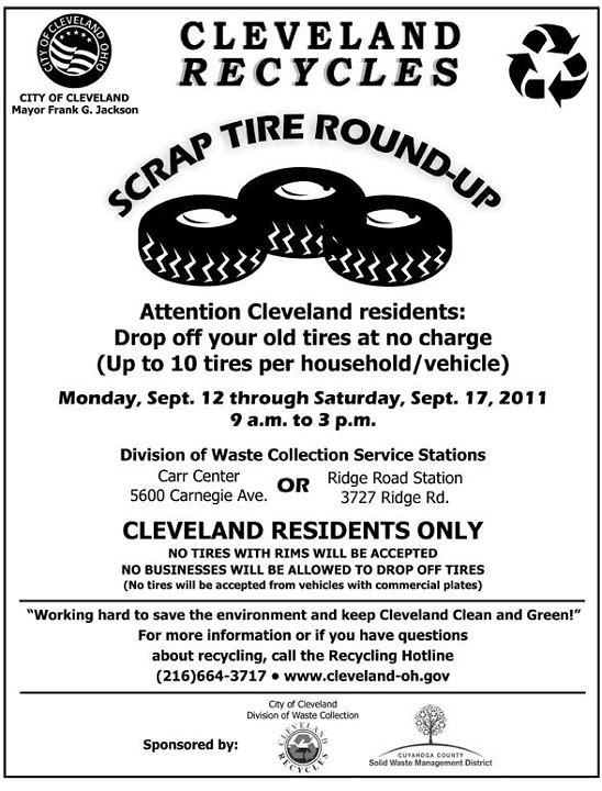 Cleveland Scrap Tire Round-up
