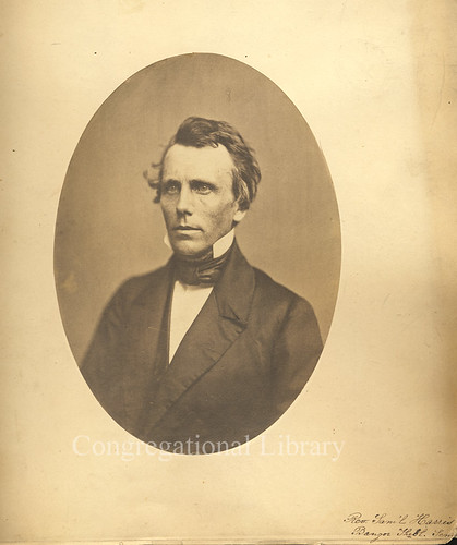Harris, Samuel, 1814-1899. Portrait.