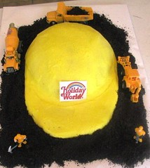 "Yummy ""safety"" cake!"