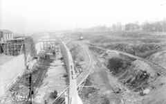 Construction of the Cal-Sag (1-28-1921) (Norman Rexford) Tags: historic bo westernave stonycreek calumet stbenedict dixiehighway mwrd blueisland rockislandrailroad calsag littlecalumet saganashkee fayspoint